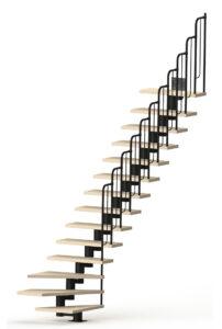 Модульная лестница КлассиКа